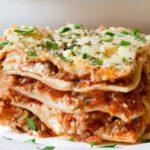 Lasagna Bolognese New York
